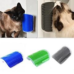 お買い得  犬用品&グルーミング用品-猫用 クリーニング ブラシ 洗濯可 / ケース付き グレー / グリーン / ブルー