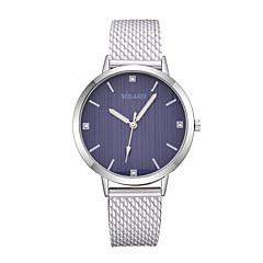 preiswerte Damenuhren-Damen Armbanduhr Quartz Armbanduhren für den Alltag Plastic Band Analog Modisch Minimalistisch Schwarz / Weiß / Silber - Rot Rosa Hellblau