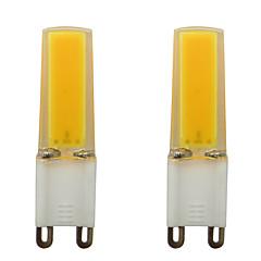 preiswerte LED-Birnen-2pcs 3 W 150-200 lm G9 LED Doppel-Pin Leuchten 1 LED-Perlen COB Dekorativ Warmes Weiß / Kühles Weiß 220-240 V