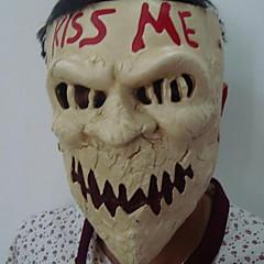 abordables Decoración del Hogar-Decoraciones de vacaciones Decoraciones de Halloween Máscaras de Halloween Fiesta / Decorativa / Cool Amarillo Claro 1pc