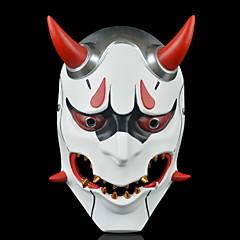 abordables Decoración del Hogar-Decoraciones de vacaciones Decoraciones de Halloween Máscaras de Halloween Decorativa / Cool Blanco 1pc