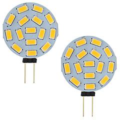 preiswerte LED-Birnen-2pcs 3 W 210 lm G4 LED Doppel-Pin Leuchten T 15 LED-Perlen SMD 5730 Warmes Weiß / Kühles Weiß 12-24 V