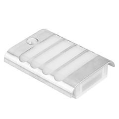 abordables Luces de Exterior-1pc 1 W Focos LED Decorativa / Monitor de detección de movimiento Blanco Cálido / Blanco Fresco 5 V Patio