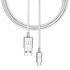 abordables Cables USB-MEIZU USB 2.0 Tipo C Cable, USB 2.0 Tipo C to USB 2.0 Cable Macho - Hembra 1.2m (los 4Ft)