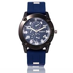 abordables Relojes Militares-Hombre Reloj Militar / Reloj de Pulsera Chino Reloj Casual PU Banda Casual / Moda Negro / Azul / Verde