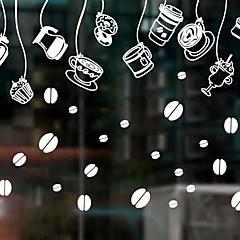 abordables Tratamientos Para Ventanas-Ventana de película y pegatinas Decoración Navidad Vacaciones CLORURO DE POLIVINILO Adhesivo para Ventana