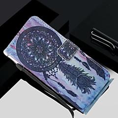 abordables Galaxy S4 Mini Carcasas / Fundas-Funda Para Samsung Galaxy S8 Plus / S8 Cartera / Soporte de Coche / con Soporte Funda de Cuerpo Entero Atrapasueños Dura Cuero de PU para S8 Plus / S8 / S7 edge