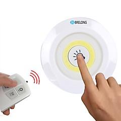 preiswerte Ausgefallene LED-Beleuchtung-BRELONG® 3 Stück / 1pc LED-Nachtlicht Weiß AAA-Batterien angetrieben Abblendbar / Schrank / Garderobe <5 V