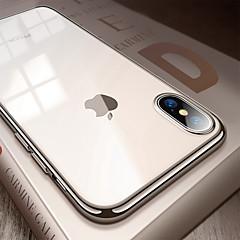 Недорогие Кейсы для iPhone 6 Plus-Кейс для Назначение Apple iPhone 8 / iPhone XS Max Покрытие / Ультратонкий / Полупрозрачный Кейс на заднюю панель Однотонный Мягкий ТПУ для iPhone XS / iPhone XR / iPhone XS Max