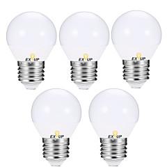 お買い得  LED 電球-EXUP® 5個 5 W 400-450 lm E14 / E26 / E27 LEDボール型電球 G45 12 LEDビーズ SMD 2835 温白色 / クールホワイト 110-130 V