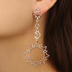 abordables Bijoux pour Femme-Femme Incompatibilité Boucles d'oreille goutte - Soleil, Etoile Large, Branché Or Rose Pour Soirée Fête scolaire