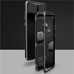 お買い得  その他のケース-ケース 用途 OnePlus OnePlus 6 磁石バックル フルボディーケース ソリッド ハード 強化ガラス のために OnePlus 6