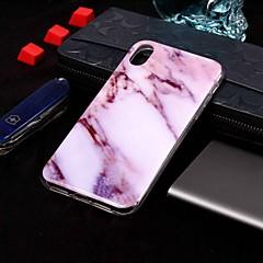 Недорогие Кейсы для iPhone 4s / 4-Кейс для Назначение Apple iPhone XR / iPhone XS Max С узором Кейс на заднюю панель Мрамор Мягкий ТПУ для iPhone XS / iPhone XR / iPhone XS Max