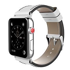 お買い得  メンズ腕時計-ステンレス 時計バンド ストラップ のために Apple Watch Series 3 / 2 / 1 ブラック / レッド 23センチメートル / 9インチ 2.1cm / 0.83 Inch