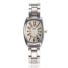 preiswerte Damenuhren-Damen Kleideruhr Armbanduhr Quartz Neues Design Armbanduhren für den Alltag Legierung Band Analog Freizeit Minimalistisch Silber - Silber Ein Jahr Batterielebensdauer