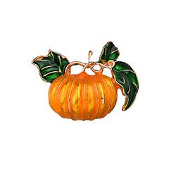 お買い得  ブローチ-女性用 ビンテージ ブローチ  -  フローラルテーマ, 創造的 ヴィンテージ, カトゥーン ブローチ イエロー 用途 Halloween / パーティー / ナイトアウト&特別な日