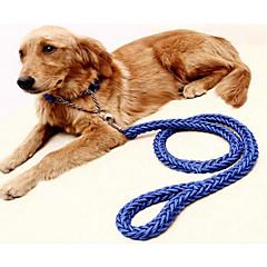 お買い得  犬用首輪/リード/ハーネス-犬用 カラー / リード 携帯用 / 調整可能 / 引き込み式 / 折り畳み式 ソリッド ナイロン パープル / グリーン / ブルー