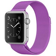 preiswerte Herrenuhren-Edelstahl Uhrenarmband Gurt für Apple Watch Series 3 / 2 / 1 Rot / Braun / Grün 23cm / 9 Zoll 2.1cm / 0.83 Inch