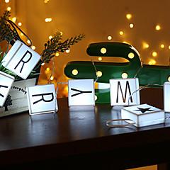 preiswerte LED Lichtstreifen-1,5 m Lichterkette 10 LEDs weiß / warmweiß dekorativ aa batteriebetrieben 1 Set