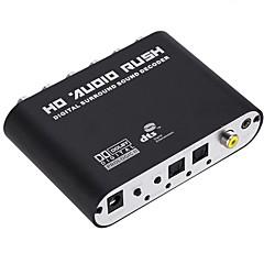 abordables Cables de Audio y Vídeo-Audio jack de 3.5mm / COAX Convertidor, Audio jack de 3.5mm / COAX a RCA Convertidor Hembra - Hembra Normal (de 20 a 79 cm)