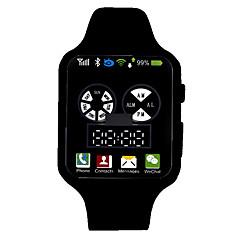 preiswerte Damenuhren-Damen damas Digitaluhr digital 30 m Wasserdicht LCD Silikon Band digital Modisch Schwarz / Weiß / Blau - Grün Blau Hellblau Ein Jahr Batterielebensdauer
