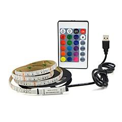 お買い得  LED ストリングライト-4m フレキシブルLEDライトストリップ 240 LED SMD3528 USB / パーティー / 装飾用 5 V 1セット