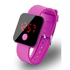 お買い得  メンズ腕時計-男性用 デジタルウォッチ デジタル ブラック / 白 / ブルー 30 m 耐水 LCD デジタル ファッション 多色 - レッド グリーン ブルー