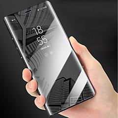 Недорогие Кейсы для iPhone 7-Кейс для Назначение Apple iPhone XR / iPhone XS Max Защита от удара / со стендом / Покрытие Чехол Однотонный Твердый ПК для iPhone XS / iPhone XR / iPhone XS Max