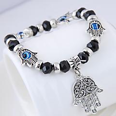 abordables Bijoux pour Femme-Femme Perles Charmes pour Bracelets Bracelets de rive - Mauvais œil Européen, Ethnique, Mode Bracelet Rouge / Vert / Bleu Pour Quotidien Plein Air