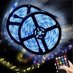 abordables Tiras de Luces RGB-BRELONG® 5 m Tiras de Luces RGB 150 LED RGB Impermeable / Nuevo diseño / Fiesta 12 V 2pcs