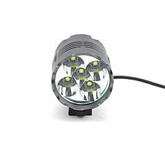 preiswerte Stirnlampen-Stirnlampen / Radlichter / Fahrradlicht LED 4000 lm 3 Beleuchtungsmodus Camping / Wandern / Erkundungen / Für den täglichen Einsatz / Radsport