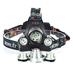 preiswerte Stirnlampen-10000 lm Stirnlampen / Fahrradlicht Cree XM-L T6 1 Modus Winkelkopf / Für Fahrzeuge geeignet / Super Leicht