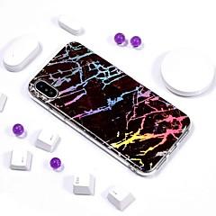 Недорогие Кейсы для iPhone 5-Кейс для Назначение Apple iPhone XR / iPhone XS Max IMD / С узором Кейс на заднюю панель Мрамор Мягкий ТПУ для iPhone XS / iPhone XR / iPhone XS Max