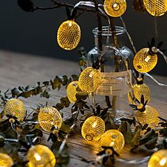 お買い得  LED ストリングライト-6m ストリングライト 40 LED 温白色 装飾用 220-240 V 1セット