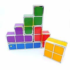 abordables LED e Iluminación-brelong tetris building blocks luz nocturna recargable 1 pc