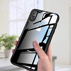 Недорогие Кейсы для iPhone 7 Plus-Кейс для Назначение Apple iPhone XS / iPhone XS Max Ультратонкий / Прозрачный Кейс на заднюю панель Однотонный Твердый Акрил для iPhone XS / iPhone XR / iPhone XS Max