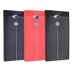 Недорогие Чехлы и кейсы для Sony-Кейс для Назначение Sony Xperia L2 / Xperia XA1 Plus Ультратонкий Кейс на заднюю панель Однотонный Мягкий ТПУ для Xperia XZ2 Compact / Xperia XZ2 / Xperia XZ1 Compact