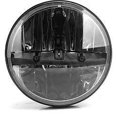 Недорогие Автомобильные фары-OTOLAMPARA 1 шт. H4 Автомобиль Лампы 55 W Интегрированный LED 6050 lm 2 Светодиодная лампа Налобный фонарь Назначение Jeep Wrangler Все года