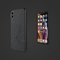 Недорогие Кейсы для iPhone X-Nillkin Кейс для Назначение Apple iPhone XR / iPhone XS Max Защита от удара / Матовое Кейс на заднюю панель Геометрический рисунок Мягкий ТПУ для iPhone XS / iPhone XR / iPhone XS Max