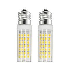 preiswerte LED-Birnen-2pcs 6 W 750 lm E17 LED Mais-Birnen T 88 LED-Perlen SMD 2835 Warmes Weiß / Kühles Weiß 85-265 V