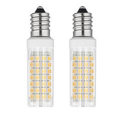 preiswerte LED-Birnen-2pcs 6 W 750 lm E14 LED Mais-Birnen T 88 LED-Perlen SMD 2835 Warmes Weiß / Kühles Weiß 85-265 V
