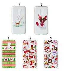 Недорогие Чехлы и кейсы для Xiaomi-Кейс для Назначение Xiaomi Redmi Note 5 Pro / Xiaomi Pocophone F1 Прозрачный / С узором Кейс на заднюю панель Рождество Мягкий ТПУ для Xiaomi Redmi Note 5 Pro / Xiaomi Pocophone F1