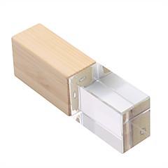 preiswerte USB Speicherkarten-16GB USB-Stick USB-Festplatte USB 2.0 Hölzern Unregelmässig Kabellose Speichergräte