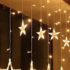 preiswerte LED Lichtstreifen-2m Leuchtgirlanden 138 LEDs Warmes Weiß Dekorativ 220-240 V 1 set