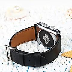 preiswerte Herrenuhren-Kalbshaut Uhrenarmband Gurt für Apple Watch Series 4/3/2/1 Schwarz / Braun / Rosa 23cm / 9 Zoll 2.1cm / 0.83 Inch