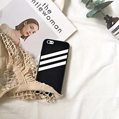 Недорогие Кейсы для iPhone 6-Кейс для Назначение Apple iPhone XR / iPhone XS Max С узором Кейс на заднюю панель Полосы / волосы Мягкий ТПУ для iPhone XS / iPhone XR / iPhone XS Max