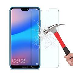 お買い得  -スクリーンプロテクター のために Huawei Huawei P20 lite 強化ガラス 1枚 スクリーンプロテクター ハイディフィニション(HD) / 硬度9H / 2.5Dラウンドカットエッジ