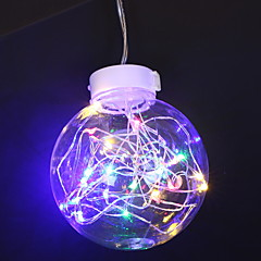 お買い得  LED ストリングライト-0.5m ストリングライト 10 LED マルチカラー 装飾用 単3乾電池 1セット