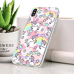 billige iPhone-etuier-Etui Til Apple iPhone XR Støvtett / Ultratynn / Mønster Bakdeksel Dyr Myk TPU til iPhone XR