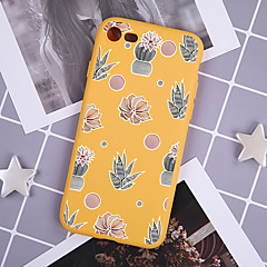 voordelige iPhone 7 hoesjes-hoesje Voor Apple iPhone XR / iPhone XS Max Patroon Achterkant Planten Zacht TPU voor iPhone XS / iPhone XR / iPhone XS Max
